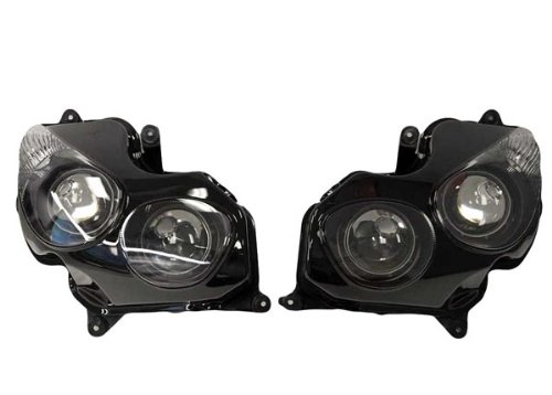 Yana Shiki HL1043-5 リプレイスメント Head Light Assembly for カワサキ Kawasaki ZX-14/ZX14R/ZZR 1400 (海外取寄せ品)