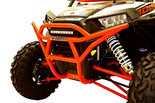 NEW DRAGONFIRE RZR XP 4 1000 1K XP1K RacePace ブラック フロント Bash Bumper #01-1100 (海外取寄せ品)