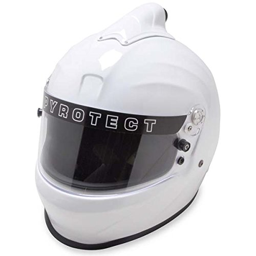 Pyrotect 8000995 XS ホワイト ProSport Duckbill Top Forced エアー - SA2010 (海外取寄せ品)
