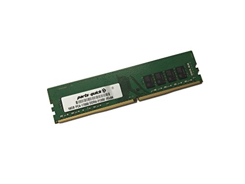 16GB メモリ memory for レノボ IdeaCentre 300-20ISH PC4-2133MHz DDR4 NON-ECC UDIMM RAM (PARTS-クイック BRAND) (海外取寄せ品)