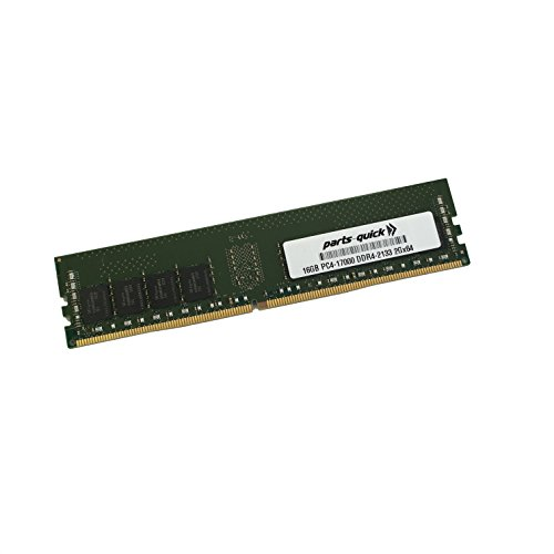 16GB メモリ memory for HP Pavilion ウェーブ 600 Series, 600t DDR4 PC4-17000 NON-ECC DIMM (PARTS-クイック BRAND) (海外取寄せ品)