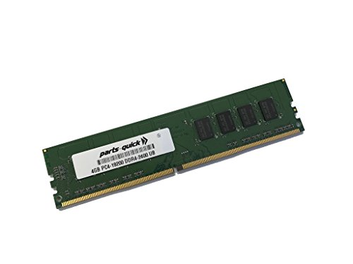 4GB Memory for ASUS H110M-A Motherboard DDR4 2400MHz Non-ECC UDIMM Memory (PARTS-クイック BRAND) (海外取寄せ品)
