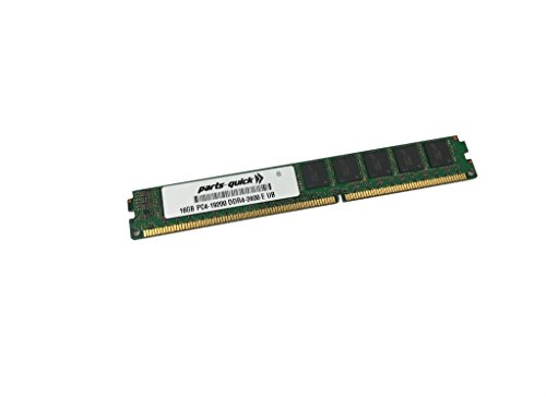16GB Memory for Supermicro MicroBlade MBI-6219G-T DDR4 2400MHz ECC VLP UDMIMM RAM (PARTS-クイック BRAND) (海外取寄せ品)
