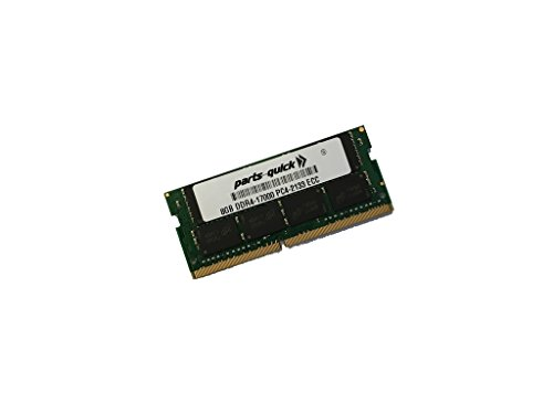 8GB (1x8GB) Memory for HP Workstation Z2 ミニ G3 DDR4 2133MHz ECC SODIMM RAM (PARTS-クイック BRAND) (海外取寄せ品)