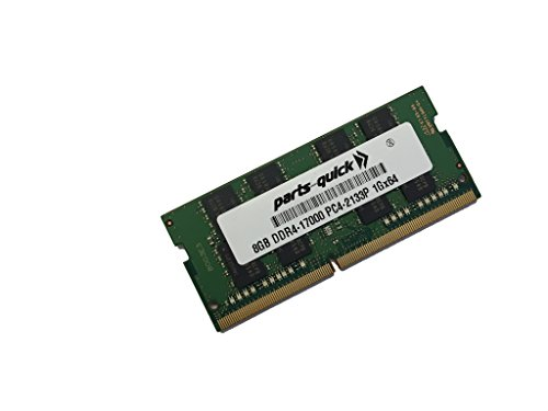 8GB メモリ memory for HP ZBook Studio G4 Mobile Workstation DDR4 PC4-19200 2400MHz SODIMM RAM (PARTS-クイック BRAND) (海外取寄せ品)