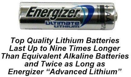100 AA Energizer L91 Lithium Batteries - Use By 2033 「汎用品」(海外取寄せ品)