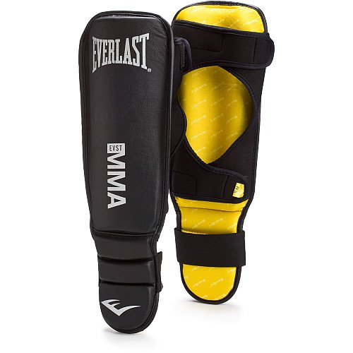 Everlast ブラック ミックス Martial Arts Shin Guards (Small/Medium) (海外取寄せ品)