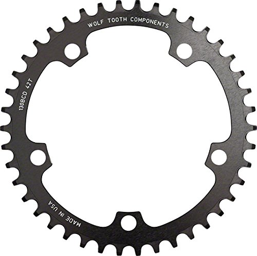 Wolf Tooth コンポーネント ドロップ-ストップ Chainring: 48T x 110 (海外取寄せ品)