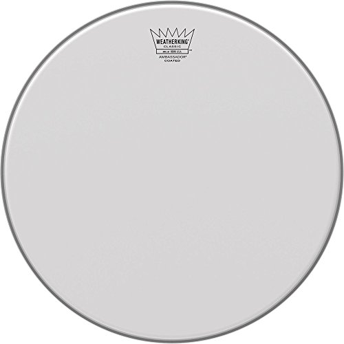 Remo CL-0118-BA アンバサダー コー??ト クラシック フィット Drumhead, 18