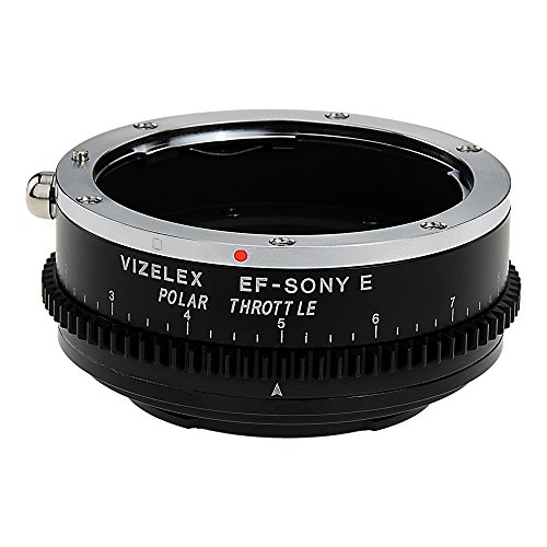 Vizelex Polar スロットル レンズ Mount Adapter - Canon EOS (EF / EF-S) D/SLR レンズ to ソニー Alpha E-Mount Mirrorless Camera Body with ビルトイン Circular Polarizing フィルタ (海外取寄せ品)