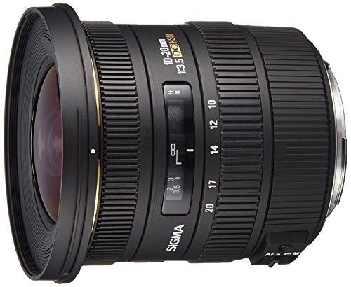 Sigma 10-20mm f/3.5 EX DC HSM ELD SLD Aspherical Super ワイド Angle レンズ for Canon デジタル SLR Cameras - International Version (No Warranty) (海外取寄せ品)