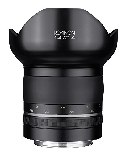 Rokinon Special パフォーマンス (SP) 14mm F2.4 Ultra ワイド Angle レンズ with ビルトイン AE チップ for Canon EF (海外取寄せ品)