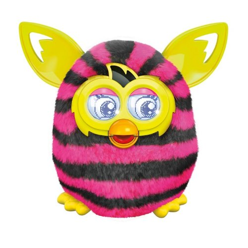 Furby Boom Sraight ストライプ with AA Batteries 「汎用品」(海外取寄せ品)