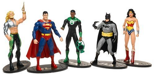 JLA アクション Figures ギフト セット of 5 (海外取寄せ品)