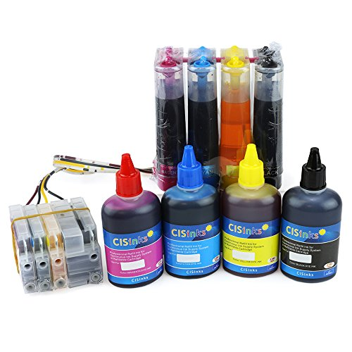 CISinks Continuous Ink サプライ System CISS and Refill Ink セット for HP 950 951 Printers - Officejet プロ 276dw 251dw 8100 8600 8610 8620 8630 - HP950 HP951 CIS (海外取寄せ品)
