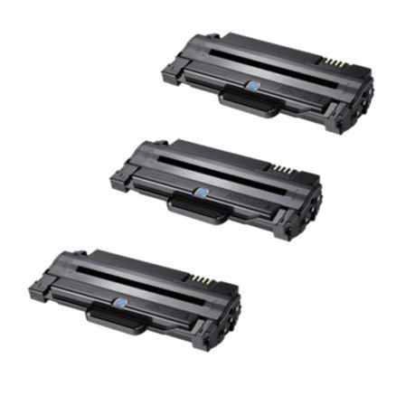 ink4work? セット of 3 パック MLT-D105L Compatible/Remanufactured ハイ Yield Toner Cartridge For ML-1910,ML-1915,ML-2525,ML-2525W,ML-2580n,SCX-4600,SCX-4623F,SCX-4623FN,SCX-4623FW,SF-650,SF-650P (海外取寄せ品)