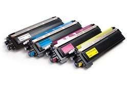 Compatible Toner Cartridge リプレイスメント for Brother TN210, バリュー バンドル (K,C,M,Y) For HL-3040/30070, MFC-9010/9120/9320 (海外取寄せ品)