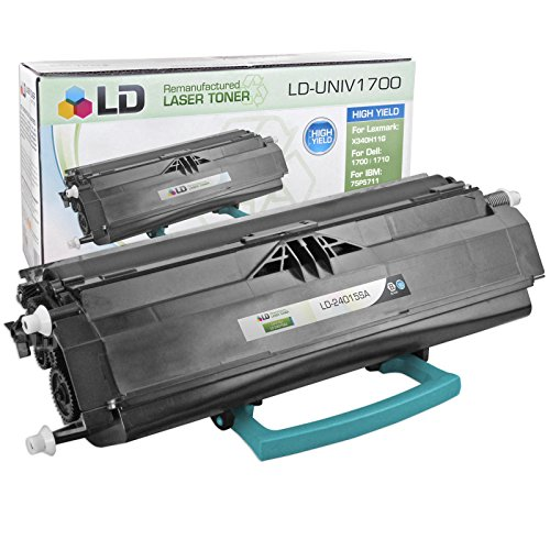 LD c Remanufactured スタンダード Yield ブラック Laser Toner Cartridge for Lexmark 24015SA (海外取寄せ品)
