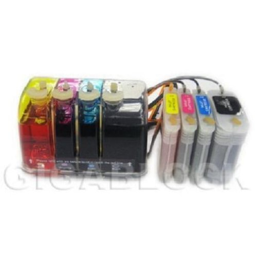 Gigablock バルク Continuous Ink System (CIS) for HP デザイン ジェット 111 Printer that is used in HP82 & HP11 cartridges (海外取寄せ品)