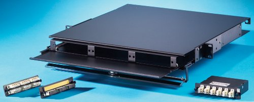 OR-FC01U-P - Ortronics OptiMo Rack Mount ファイバー Enclosure for Patching Applications, 1U (海外取寄せ品)