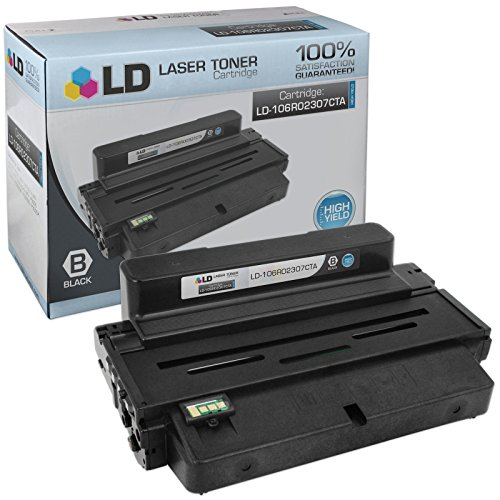 LD c Compatible リプレイスメント for Xerox 106R02307 ハイ Yield ブラック Laser Toner Cartridge for use in Xerox Phaser 3320 Printer (海外取寄せ品)