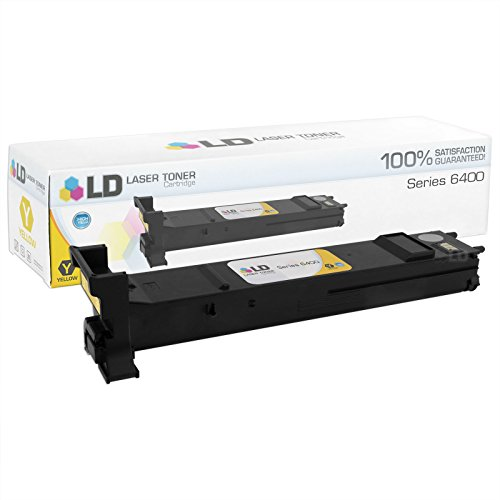 LD c Compatible Xerox 6400 / 106R01319 ハイ Yield イエロー Toner Cartridge for WorkCentre 6400, 6400S, 6400SFS, 6400X, 6400XF (海外取寄せ品)