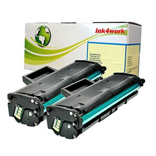 2 パック ink4workc Compatible リプレイスメント for サムスン MLT-D111S (111S) Compatible With Xpress M2022, Xpress M2020W, Xpress 2070FW Printer (2 Pack) (海外取寄せ品)
