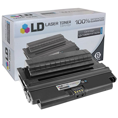 LD c Compatible リプレイスメント for Xerox 106R01415 ハイ Yield ブラック Laser Toner Cartridge for use in Xerox Phaser 3435 Printer (海外取寄せ品)