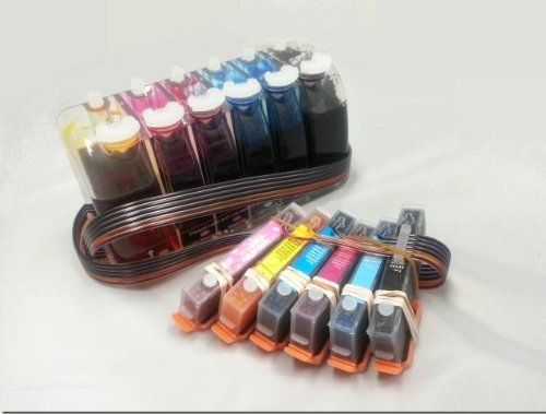 Gigablock CIS CISS バルク Continuous Ink サプライ System For Epson Expression XP-750 XP-850 T2431 T2771 (海外取寄せ品)