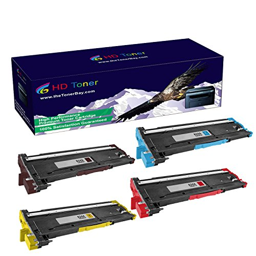 HD Toner TM Compatible 1Set CB384A-CB387A Drum Cartridges For HP カラー LaserJet CM6030 ハイ Yield 35000 ページ (海外取寄せ品)