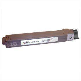 LD c Okidata C9600/C9800 Series 'Type C7' Remanufactured 42918904 ブラック Laser Toner Cartridge (海外取寄せ品)