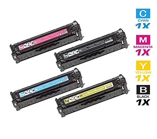 AZ サプライ c Compatible リプレイスメント Toner Cartridges for 305A, CE410X, CE411A, CE412A, CE413A for use in HP カラー LaserJet プロ 300 カラー M351A,プロ 400 M451DN, プロ 400 M451DW,MFP M475DN,MFP M475DW (海外取寄せ品)