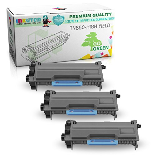INKUTEN Compatible Toner Cartridge リプレイスメント for Brother TN850 TN 850 ハイ Yield (3 ブラック Toners) Compatible With MFCL5900DW HLL6200DW HLL5100DN HLL5200DW MFCL5700DW MFCL5800DW DCPL5650DN DCP-L5600DN MFCL6700DW DCPL5500DN MFCL (海外取寄せ品)