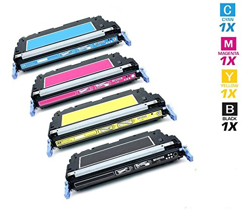 AZ サプライ c プレミアム OEM クオリティー HP 3800/503A, Q6470A, Q7581A, Q7582A, Q7583A Toner Cartridges 4 カラー セット Professionally Re-manufactured for HP カラー Laser ジェット 3800, 3800N, 3800DN Series Printers (Black, シアン, Mage (海外取寄せ品)