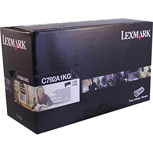 Lexmark C792/X792 ブラック Return Program Toner 6000 Yield (海外取寄せ品)