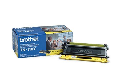 Brother TN-110Y Toner Cartridge, イエロー (海外取寄せ品)