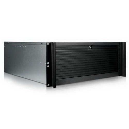 iStarUSA D-416-6B124 キット 4U Compact スタイリッシュ 24x2.5-インチ Rackmount Chassis (海外取寄せ品)