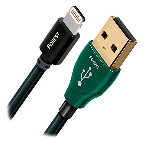 AudioQuest フォレスト .75m (2.5 ft. ) Lightning to USB A ケーブル for iPod/iPhone/iPad (海外取寄せ品)
