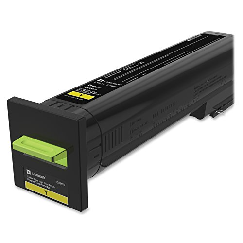 Lexmark 82K1XY0 Toner Cartridge, イエロー (海外取寄せ品)
