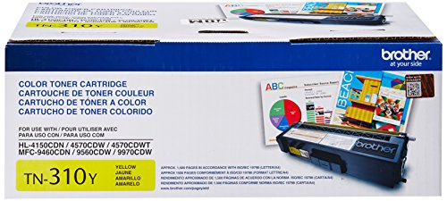 Brother TN310Y イエロー Toner Cartridge for Brother Laser Printer Toner - Retail パッケージング (海外取寄せ品)