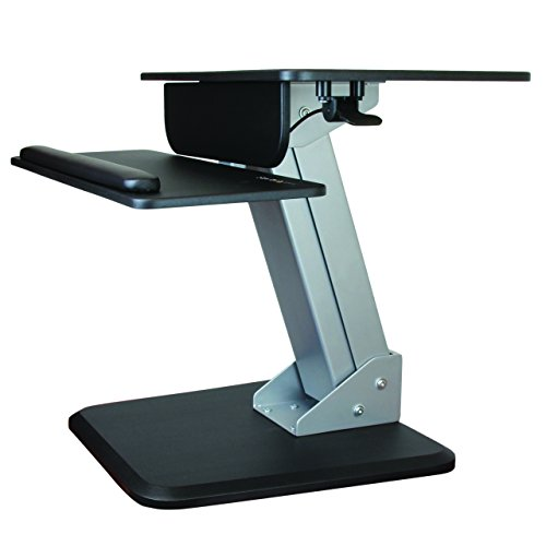 StarTech.com Height アジャスタブル Standing デスク Converter ? Sit Stand デスク with One-finger Adjustment ? Ergonomic デスク (海外取寄せ品)