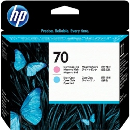 HP 70 Lt シアン and Lt Magenta Printhead for Use In セレクト Photosmart Professional (海外取寄せ品)