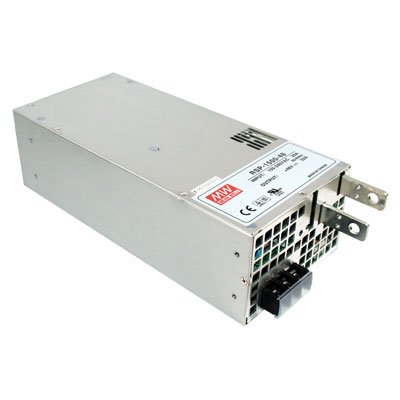Mean ウェル RSP-1500-24 Enclosed Switching AC-to-DC Power サプライ, シングル Output, 24V, 0-63A, 1512W, 3.3