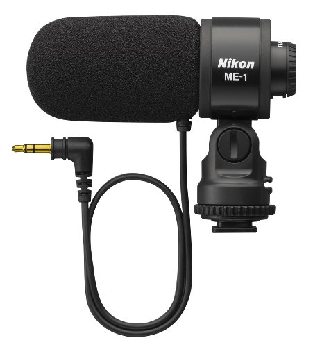 Nikon 27045 ME-1 ステレオ Microphone Supplied with ウインド スクリーン and ソフト ケース (海外取寄せ品)