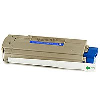 MPI Compatible Laser Toner Cartridge for OKIDATA C5550n, C6100Ldn (CYAN) (海外取寄せ品)