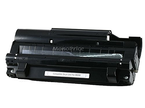 Monoprice 103057 MPI DR-200 Remanufactured Drum Unit for Brother IntelliFax 2600, MFC-4300, MFC-9500 Printers (海外取寄せ品)