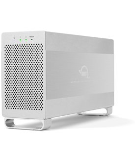 OWC / Other World Computing Mercury エリート プロ デュアル 4TB (2x 2TB) 2-Bay パフォーマンス RAID ストレージ Solution, USB 3.1 ジェン 1/eSATA, RAID 0/1/SPAN and Independent ドライブ Mode Supported (海外取寄せ品)