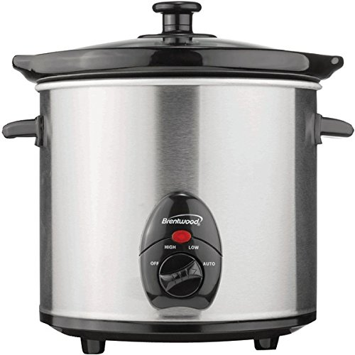 The BEST BRENTWOOD 3QT ST/ST SLOW COOKER (海外取寄せ品)