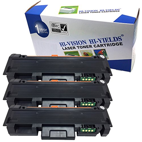 HI-ビジョン Compatible ブラック Toner Cartridge リプレイスメント for サムスン MLT-D118S [1,200 ページ Yield] works with Xpress M0365FW, M3015DW (3-Pack) (海外取寄せ品)