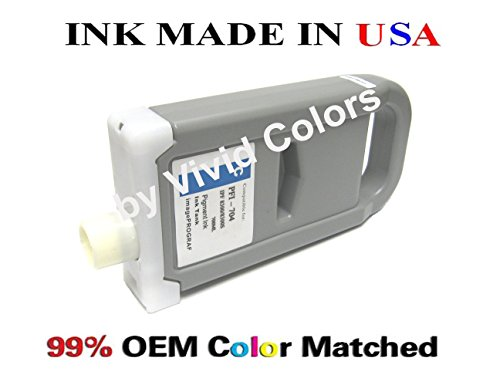 New PFI-704 Compatible cartridge for Canon IPF8300s- シアン (海外取寄せ品)